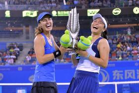 Chan is No. 1 in women's doubles but she needs to find a new partner