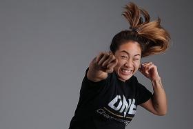 MMA star Angela Lee eyes treats in Singapore