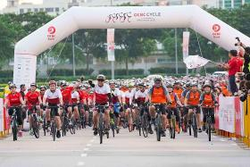OCBC Cycle events attract over 6,500