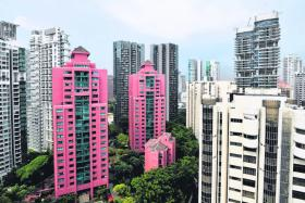 Resale prices of condos up in April