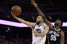 Warriors face Rockets' challenge for Finals spot