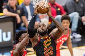 LeBron James has carried the Cavaliers on his back at times, averaging 34.3 points, 9.4 rebounds and 9.0 assists in 11 play-off games.