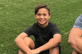 Fandi Ahmad's youngest son, 11, on living with asthma
