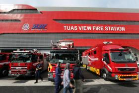Tuas View  fire station