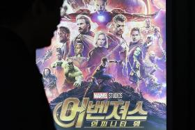 Avengers: Infinity War stays strong with US$61.8m third weekend