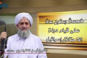 Al-Qaeda chief urges Muslims to take up arms