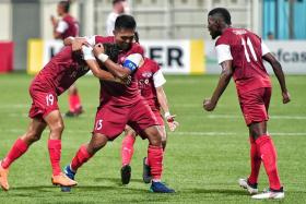 Home United are through to the AFC Cup Asean zone final for a second straight year.