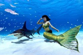 Be part of a mermaid's world on Genting Dream