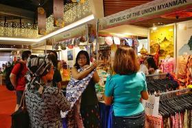 Experience all of Asean at Hari Raya Bazaar