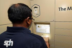 Trial of common lockers to ease parcel delivery