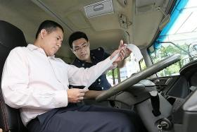 Traffic Police to track speed of heavy vehicles with devices in trial