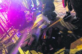 Man fighting for his life after Tanjong Pagar attack