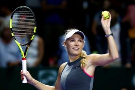 Caroline Wozniacki, the second seed at the French Open, will be rooting for Liverpool in the Champions League final.