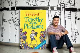 Ken Kwek releases new book Timothy And The Phubbers