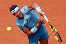 Rafael Nadal's march towards a record-extending 11th French Open title shows no signs of stopping.