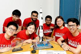 TP students win space challenge