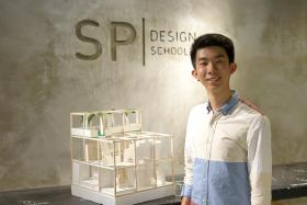 Mr Seow Qing Huat was accepted to Singapore Polytechnic's Diploma in Interior Design programme via the EAE(l).