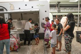 Mr Bean gives out free soya milk to low-income households