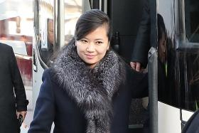 Top North Korean singer is part of Kim's summit entourage