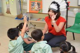 Schools getting kids to read more