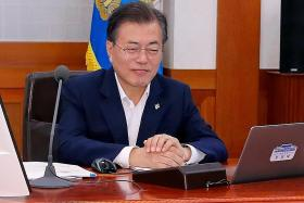 S.Korea president: Singapore agreement will end Cold War