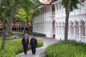 12 highlights of Trump-Kim summit on June 12