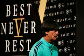 Germany coach Joachim Loew is eyeing a successful title defence.