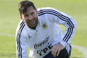 Argentina coach Jorge Sampaoli believes Lionel Messi (above) will stay on with the national team after the World Cup.