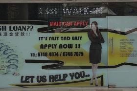 Moneylenders targeting maids