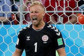Schmeichel praised in Danes' 1-0 win over Peru