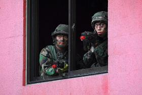 S Korea, US to announce suspension of military drills: Report