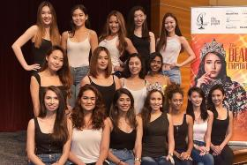 Miss Universe Singapore finalists represent beauty of empowerment