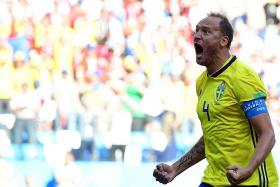 VAR penalty gives Sweden their first opening-game victory since 1958