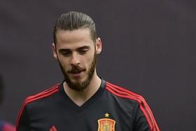Spain goalkeeper David de Gea.