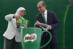 Try new Milo formula without added table sugar