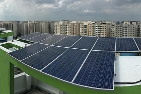 848 HDB blocks, 27 govt sites to get solar panels