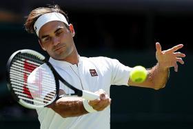 New-look Federer, same result