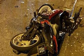 Motorcyclist's hand severed in Republic Boulevard crash
