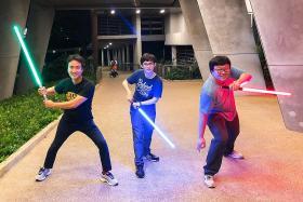 No Star Wars backlash for S'pore fans who make lightsaber duel video