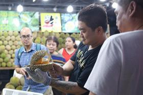 Durian prices plunge amid supply glut