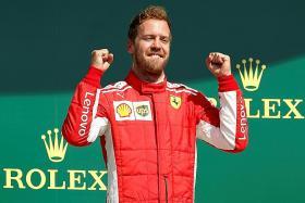 Vettel denies Hamilton a fifth straight home win
