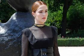 Zoey Deutch comes of age at haute couture fashion week