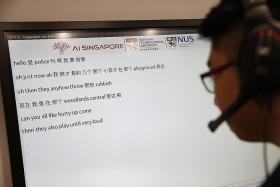SCDF turns to AI to help emergency dispatch phone operators