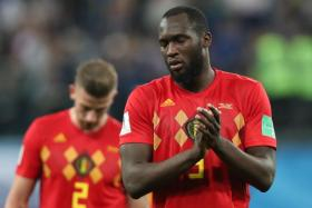 Belgium's Romelu Lukaku and Toby Alderweireld can't hide their feelings after the match.