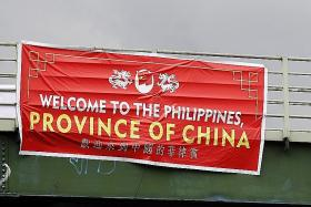 Outrage as signs call Philippines a 'province of China'