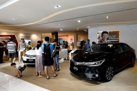 Retail sector up but sales of motor vehicles down
