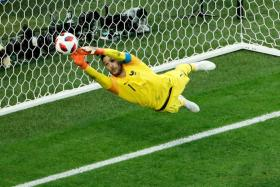 France goalkeeper Hugo Lloris insists they have no idea what is going on back home in the lead-up to the final.