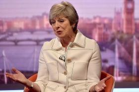 British PM May warns: Back me or risk no Brexit at all