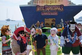 Animator returns to draw box-office blood with Hotel Transylvania 3