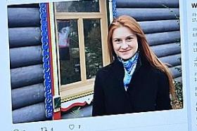 Woman arrested in US, accused of being Russian agent